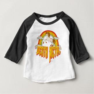 Einhörner des Todesmetalls Baby T-shirt