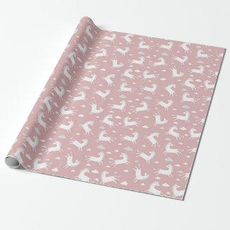 Einhörner Einpackpapier