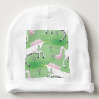 einhörner in den Feldern von pixel Babymütze