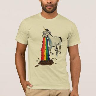 Einhörner kotzen Regenbogen T-Shirt