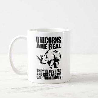Einhörner sind wirkliche - sie sind Rhinos - Kaffeetasse