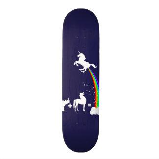 Einhornursprung Personalisiertes Skateboarddeck