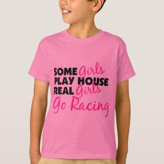Einige Mädchen-Spiel-Haus-wirkliche Mädchen gehen T-Shirt