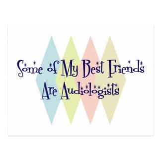 Einige meiner besten Freunde sind Audiologen Postkarte