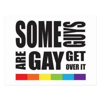 Einige Typen sind erhalten über es LGBT Stolz Postkarten