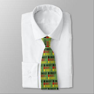 Einigkeit Recht Freiheit Krawatte, deutsches Motto Krawatte