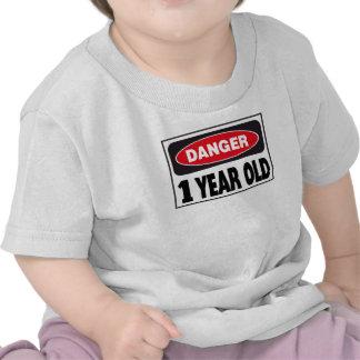Einjähriges Gefahrenzeichen