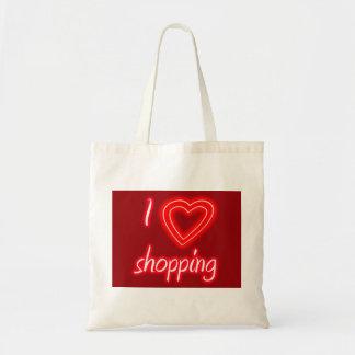 Einkauf der Liebe I Leinentaschen