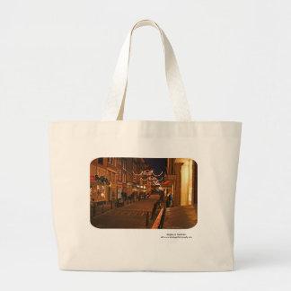 Einkauf in Amsterdam Leinentasche