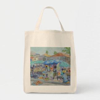 EINKAUF in der HAITI-Taschen-Tasche Einkaufstasche