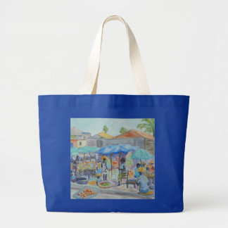 EINKAUF in der HAITI-Taschen-Tasche Jumbo Stoffbeutel