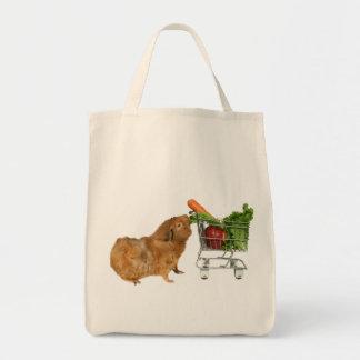 Einkauf-Meerschweinchen Leinentaschen