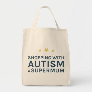 Einkauf mit Autismus Supermum Tasche