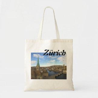 Einkaufen in Zürich Budget Stoffbeutel