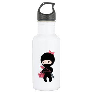 EinkaufenNinja Mädchen Trinkflasche