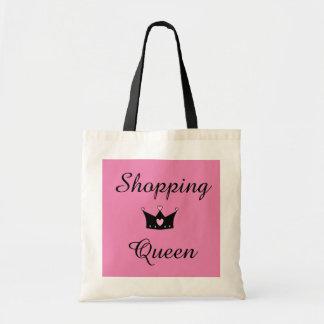 Einkaufskönigin-Tasche Budget Stoffbeutel