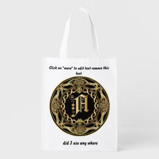 Einkaufstasche des Monogramm-B