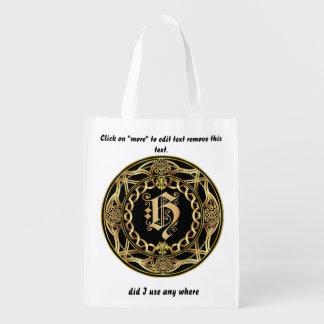 Einkaufstasche des Monogramm-H
