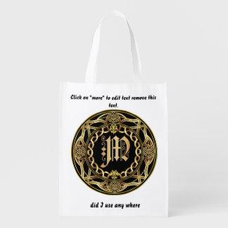 Einkaufstasche des Monogramm-M