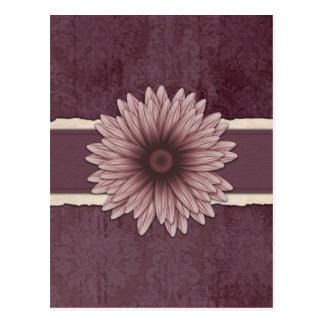Einklebebuch-Art-Raffiabast-natürliche Blume Postkarte