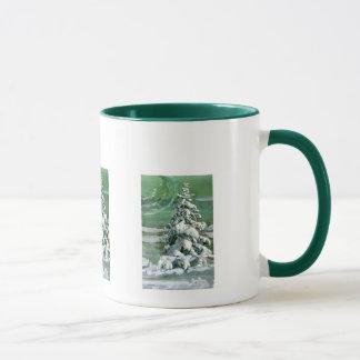 Einklebebuch-Tannen-Baum-Tasse Tasse