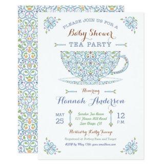 Einladung des Babyparty-Tee-Partei-Baby-II