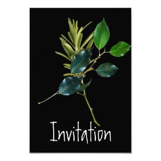 Einladung, die Party kocht Karte