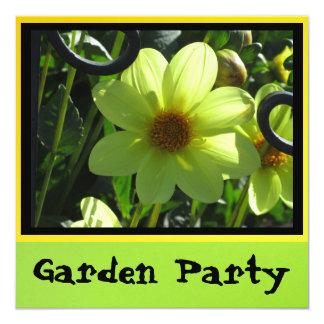 Einladung - Garten-Party