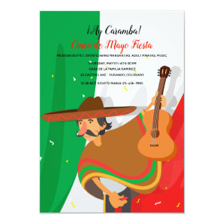 Einladung Mariachi Cinco Des Mayo
