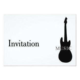 Einladung mit Gitarre