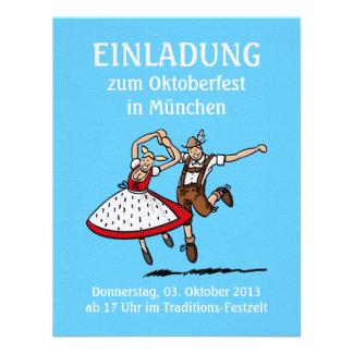 Einladung Oktoberfest München Tanzen-Paare
