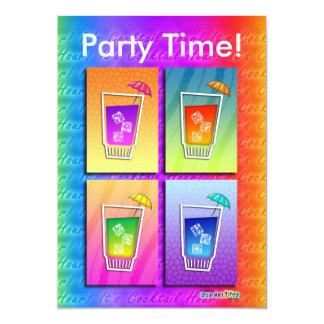Einladung - Pop-Kunst-Cocktails