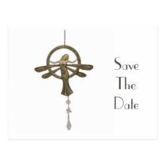 Einladung Save the Date: Kunst Nouveau Postkarten