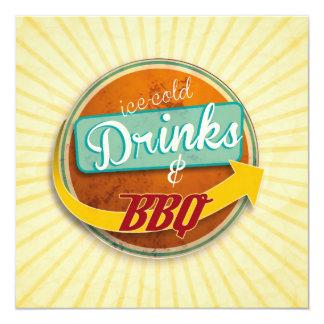 Einladung zum BBQ im 50er-Jahre-Style