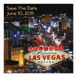 Einladungen Las Vegas Save the Date