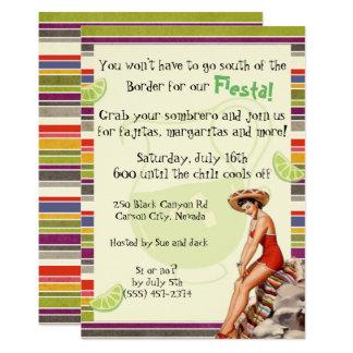 Einladungs-Fiesta-Party Einladung Cinco Des Mayo