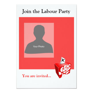 Einladungs-Schablonen-Arbeits-Party 12,7 X 17,8 Cm Einladungskarte