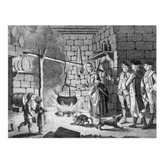 Einleitung Dr.-Samuel Johnsons zu einem Hochland Postkarte