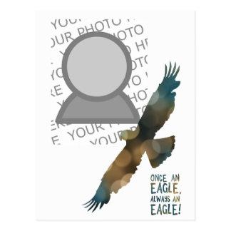 einmal ein Adler immer ein Adler-Foto Postkarte
