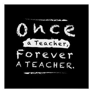Einmal ein Lehrer, für immer ein Lehrer Poster