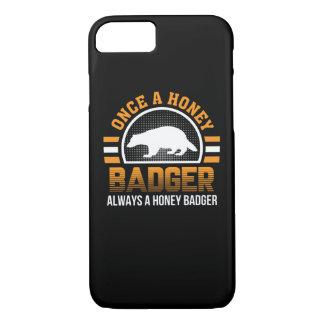Einmal Honig-Dachs-immer Honig-Dachs iPhone 8/7 Hülle