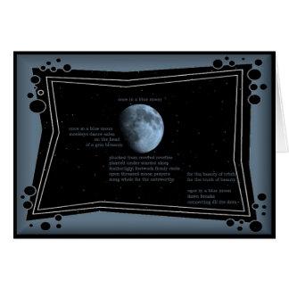 einmal in einem blauen Mond - tägliche Karte