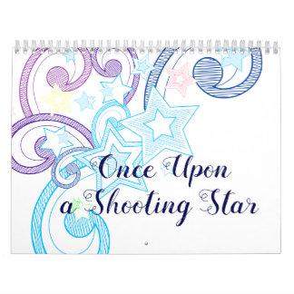 Einmal nach einer Sternschnuppe Wandkalender