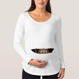 Einmischendes Baby Schwangerschafts T-Shirt