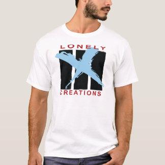 EINSAME KREATIONEN rot und das T-STÜCK der blauen T-Shirt