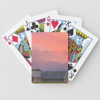 Einsame Scheune Bicycle Spielkarten