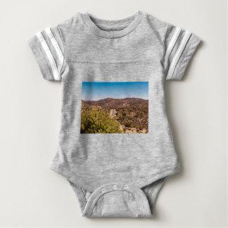 Einsame Wüstenstraße Joshua-Baums Baby Strampler