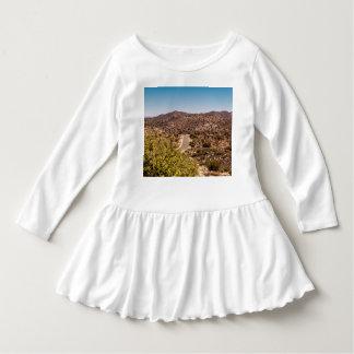 Einsame Wüstenstraße Joshua-Baums Kleid