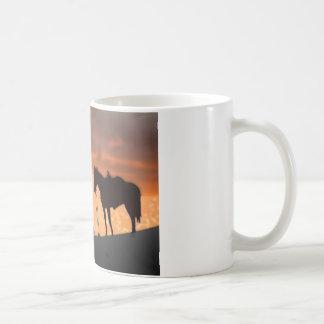 Einsamer Cowboy Kaffeetasse