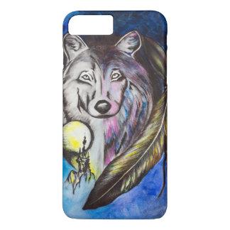 Einsamer Wolf iPhone 8 Plus/7 Plus Hülle